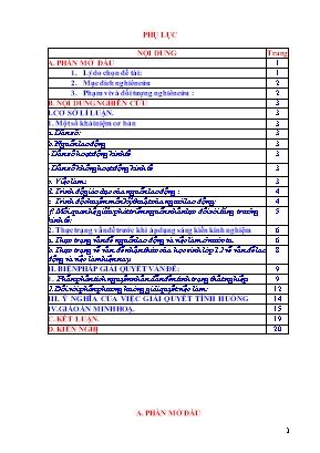 """SKKN Sử dụng kiến thức liên môn để nâng cao chất lượng giảng dạy bài 17 Lao động và việc làm"""" - Địa lý 12 cơ bản ở Trường THPT Lê Lợi"""