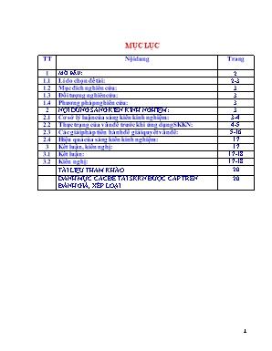 SKKN Tích hợp kiến thức liên môn nâng cao hiệu quả dạy bài 38 - 39: Phát triển tổng hợp kinh tế và bảo vệ tài nguyên - Môi trường biển đảo