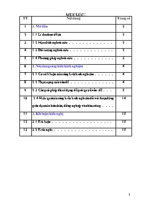 SKKN Một số biện pháp rèn kĩ năng làm tốt bài văn tả cảnh cho học sinh lớp 6