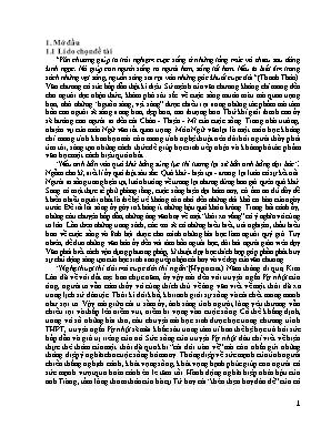 """Một số biện pháp góp phần nâng cao hiệu quả dạy - Học truyện ngắn """"Vợ nhặt"""" của Kim Lân (Ngữ văn 12 - Cơ bản)"""