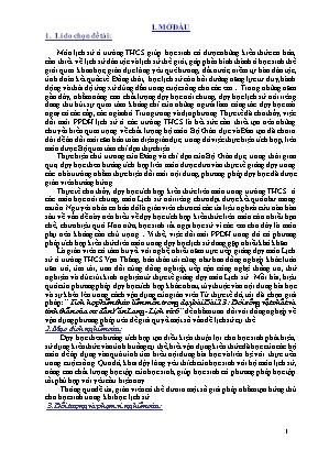 SKKN Tích hợp kiến thức liên môn trong dạy bài Bài 13-: Đời sống vật chất và tinh thần của cư dân Văn Lang - Lịch sử 6