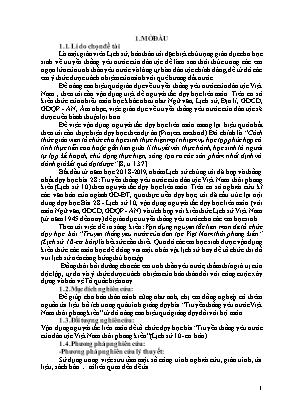 """SKKN Vận dụng nguyên tắc liên môn để tổ chức dạy học bài """"Truyền thống yêu nước của dân tộc Việt Nam thời phong kiến"""" (Lịch sử 10 - Cơ bản)"""