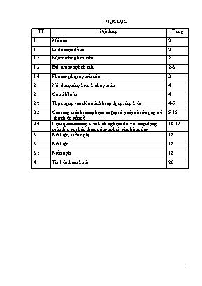 SKKN Hướng dẫn học sinh giỏi lớp 9 một số kĩ thuật giải hệ phương trình bằng phương pháp thế và phương pháp cộng đại số