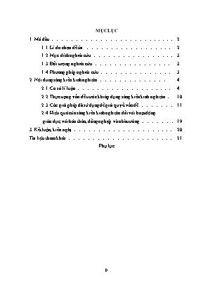 SKKN Một số biện pháp nâng cao hiệu quả dạy - Học văn bản kịch trong chương trình Ngữ văn THPT