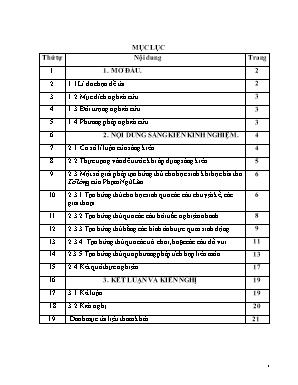 SKKN Một số biện pháp tạo hứng thú cho học sinh khi học bài thơ Tỏ lòng của Phạm Ngũ Lão