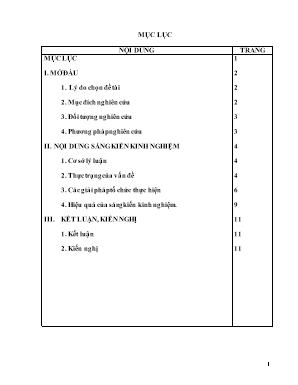 """SKKN Một số kiến thức bổ trợ giúp dạy tốt bài 12 """"Quyền và nghĩa vụ của công dân trong hôn nhân"""" môn Giáo dục công dân lớp 9 ở trường THCS Nga Thái"""