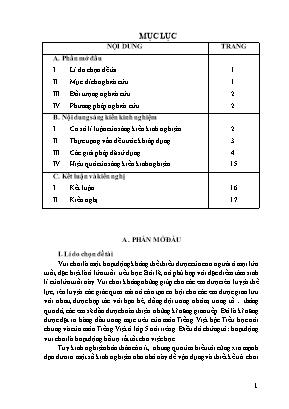 SKKN Một số kinh nghiệm thiết kế trò chơi học tập Tiếng Việt lớp 5 đạt hiệu quả