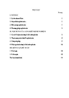 SKKN Nâng cao hiệu quả dạy học câu lệnh Lặp với số lần biết trước trong chương trình Tin học lớp 11 (sách giáo khoa cơ bản) bằng một số bài tập tiêu biểu cho học sinh trường THPT Lê Viết Tạo, huyện Hoằng Hóa