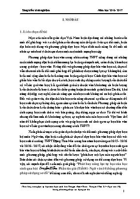 SKKN Phát huy năng lực tự học của học sinh qua bài Truyện Kiều - Phần tác giả (Tiết 81 - Ngữ văn 10) bằng phương pháp sử dụng sơ đồ