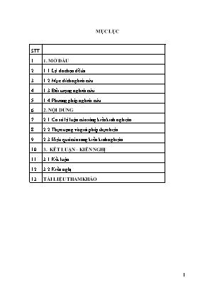 SKKN Một số sai lầm phổ biến trong việc giải bài toán nguyên hàm, tích phân và hướng khắc phục